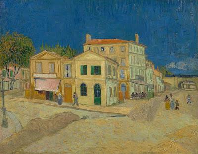 Vincent van Gogh - la maison jaune,1888
