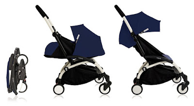 the Jet-Setters baby travel stroller, 3 different configurations, Kidsland