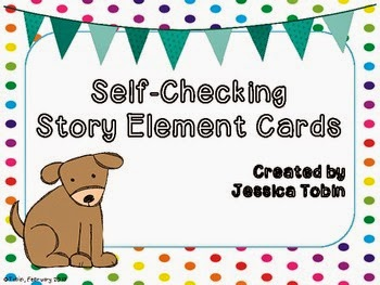 Self-Checking Story Element Cards