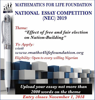 2019 M4L National Essay Competition (NEC) Application Guidelines