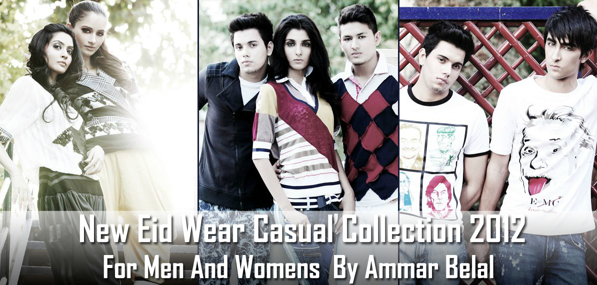 dbb72ceede Ammar Belal Sports Collection 2012   Eid Wear Casual Collection 2012 For  Men And Womens By Ammar Belal