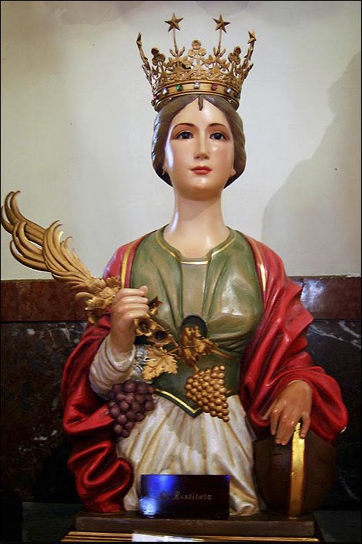 sveta Restituta - devica in mučenka