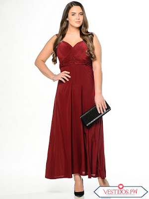 0b4413dc5 100 [FOTOS] Vestidos para Gorditas ¡Modelos Exclusivos! (Ideas ...