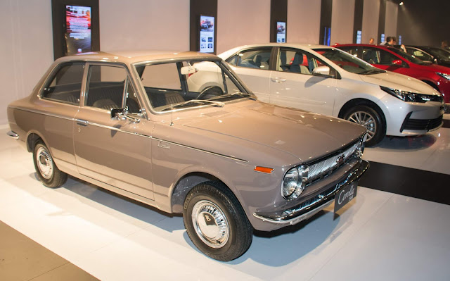 Toyota Corolla MK1 - 1ª geração