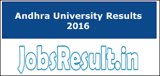 Andhra University Results 2016