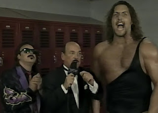 WCW UNCENSORED 1996 - Mean Gene interviews Jimmy Hart and The Giant