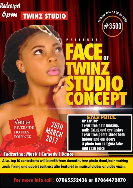 Photos from the  star studded FACE OF TWINZ STUDIO CONCEPT  auditions.