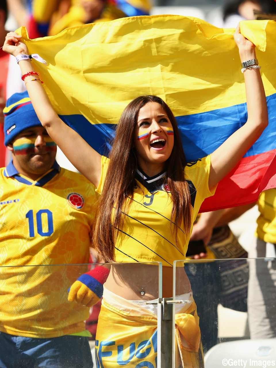Topic World cup fans hot girls
