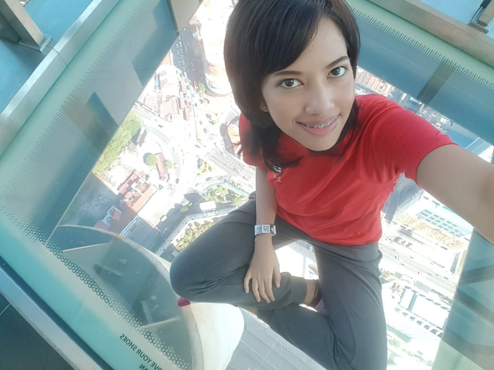 Glass floor at Komtar Penang | Ummi Goes Where?