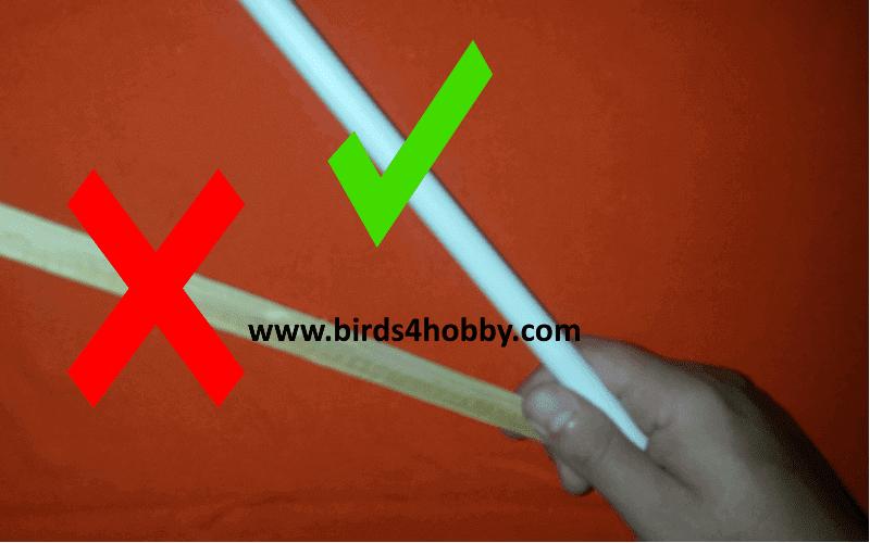 شكل المجثم المناسب للأرجل الطيور