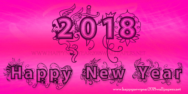 New year 2018 vector art vintage images 3d movie gif whatsapp facebook