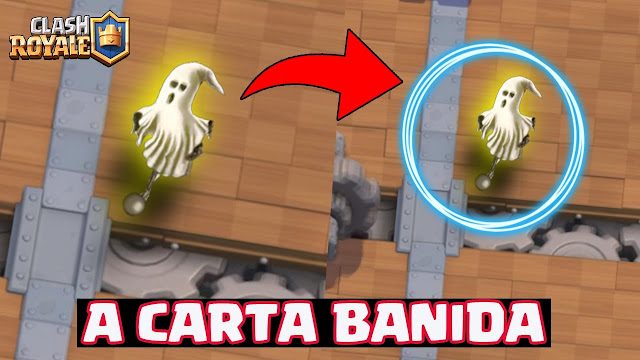 Carta Fantasma no Clash Royale