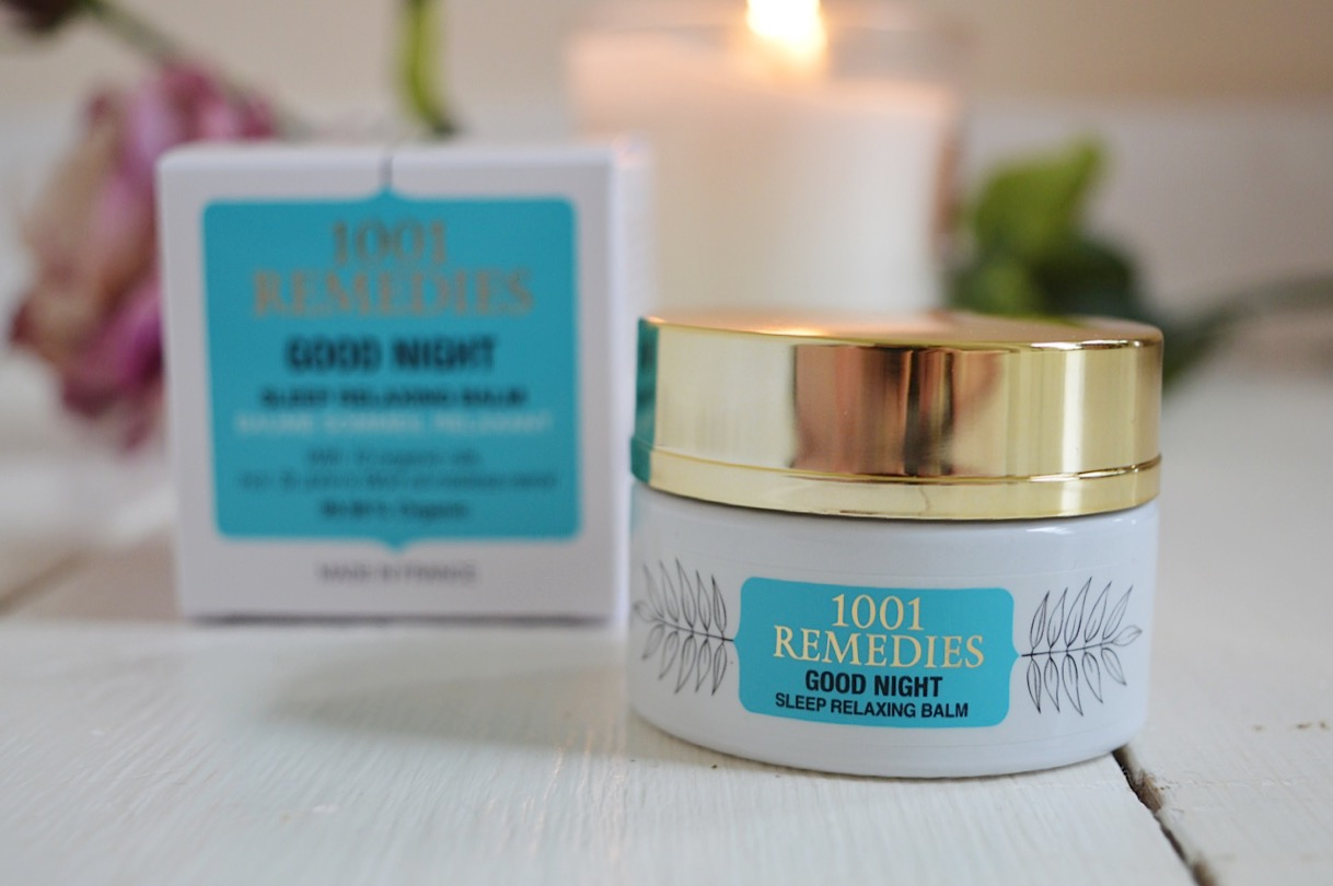 1001 Remedies Good Night Sleep Relaxing Balm review, beauty bloggers, UK beauty blog, FashionFake blog