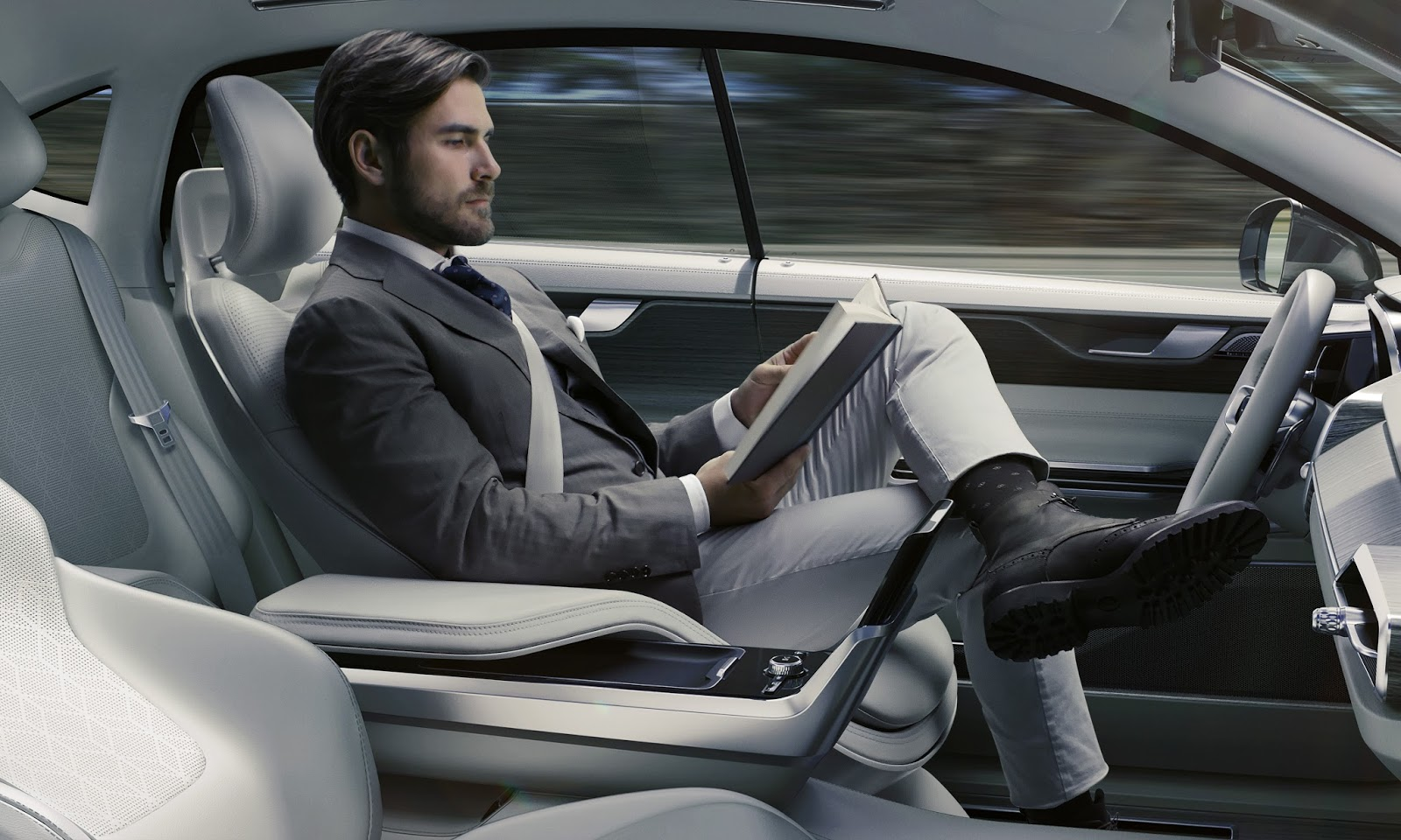 169545 Concept 26 Η Volvo θα κάνει και την αυτόνομη οδήγηση διασκεδαστική Autonomous Driving, Volvo, Volvo XC90, Αυτόνομη οδήγηση