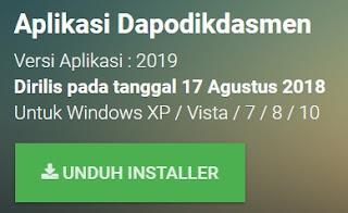 Aplikasi Dapodik 2019