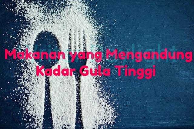 Makanan yang Mengandung Kadar Gula Tinggi