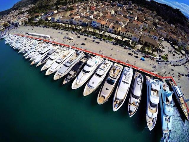 Κλείνει τμήμα από το λιμάνι Ναυπλίου για το 5ο Mediterranean Yacht Show