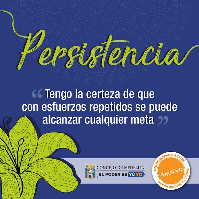 Persistencia - Concejo De Medellín