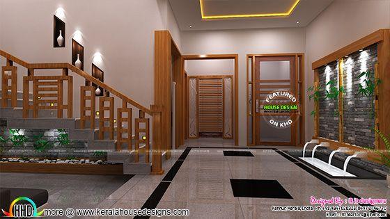 Living room work, Kerala