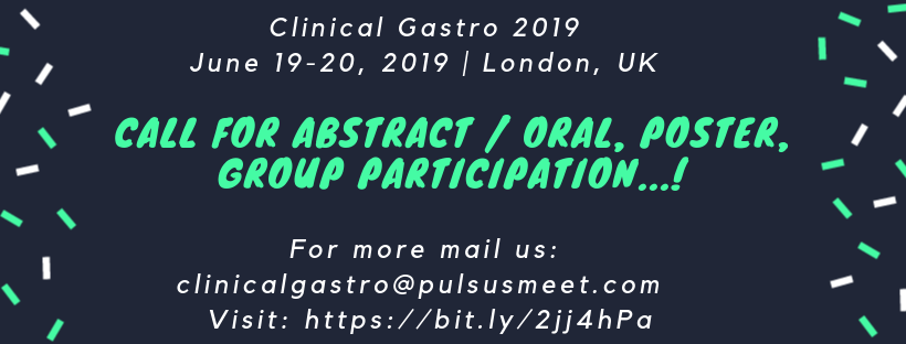13th International Conference on Clinical Gastroenterology