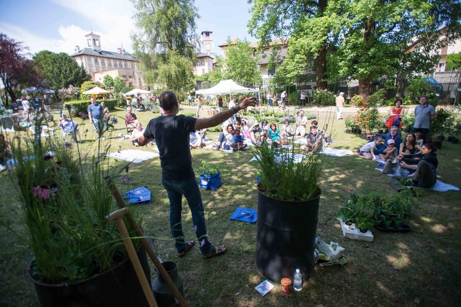OrtaBlog Menta e Rosmarino  Green Festival Arte