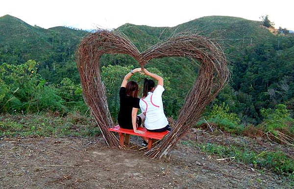 Heart Arch at Bukit Matanoi