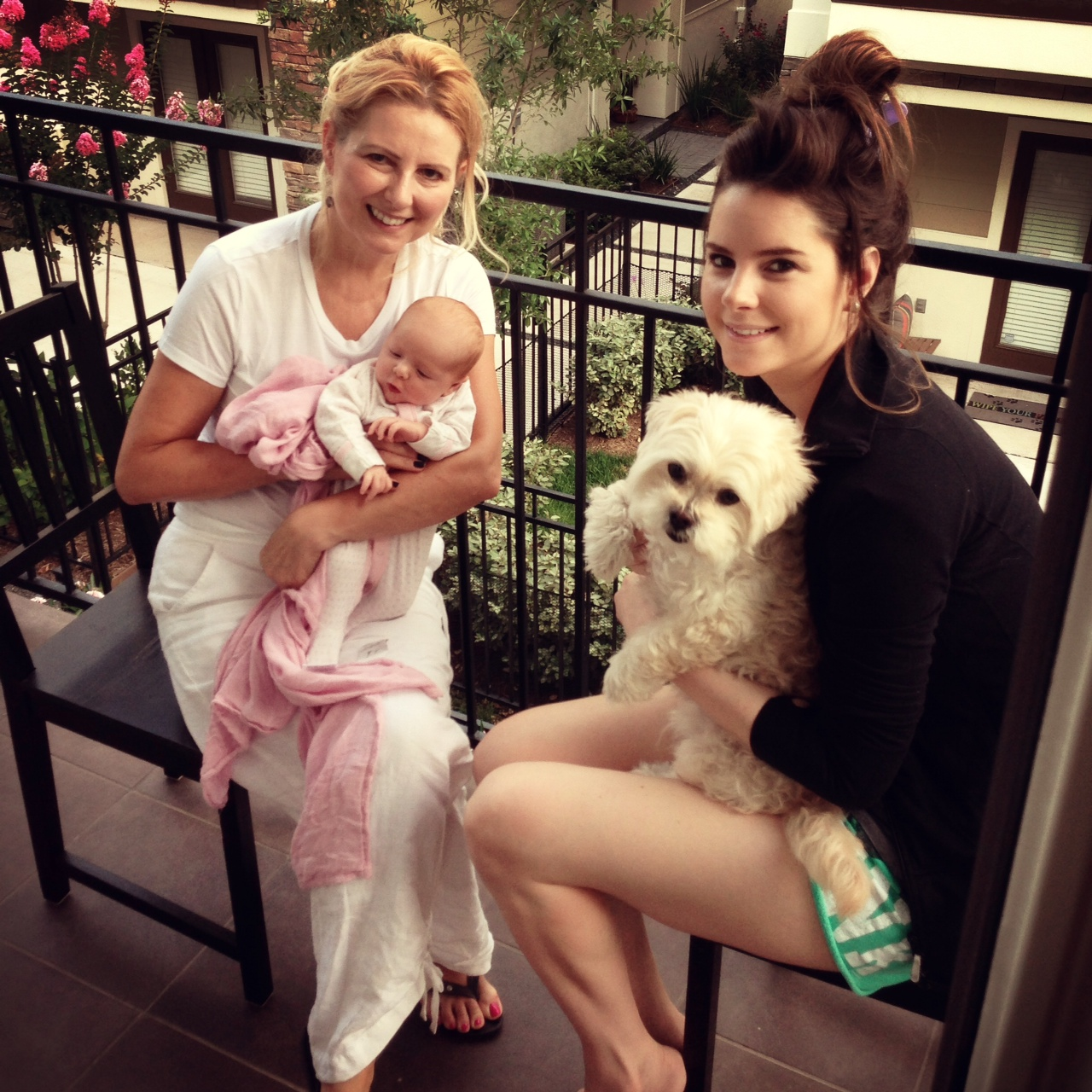 Veronika S Blushing Harper S Nursery Updated: Veronika's Blushing: Harper Meets Grandma
