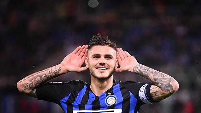 Wanda Nara Sebut Mauro Icardi Masih Betah di Inter Milan