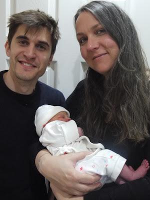 family, new baby, three generations