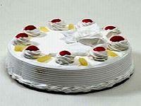Sviatočná ananásová torta