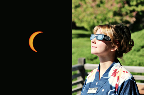 Solar Eclipse Lethbridge Alberta