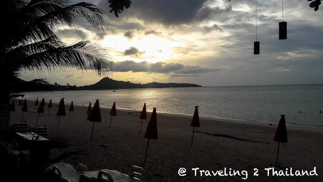 Sunrise at Lamai beach, Koh Samui - Thailand