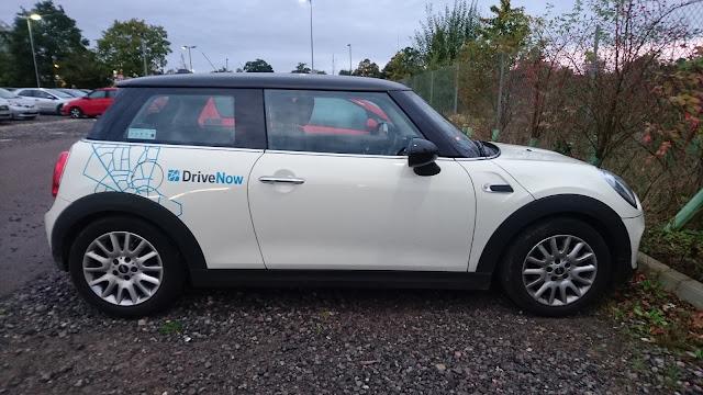 drivenow 3-door mini