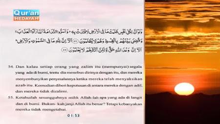 Frekuensi siaran Quran Hidayah Indonesia di satelit Palapa D Terbaru