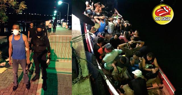 37 balseros venezolanos intentaron entrar en Curazao pero fueron detenidos