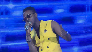 Adekunle gold perform at project fame season 9