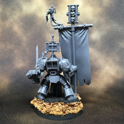 Grey Knights Brotherhood Ancient WIP - Back