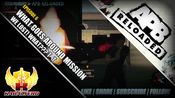 APB Reloaded ★ What Goes Around Mission ★ We Lost! WHAT??? T_T