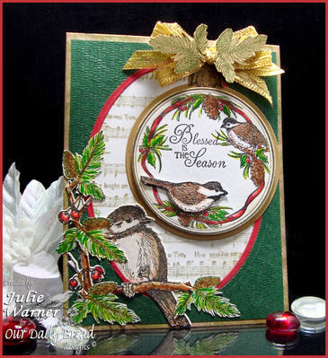 ODBD Products - You Will Find Refuge, ODBD Custom Chickadee Die, Cardinal Ornament, O Christmas Tree Carol, Sing for Joy