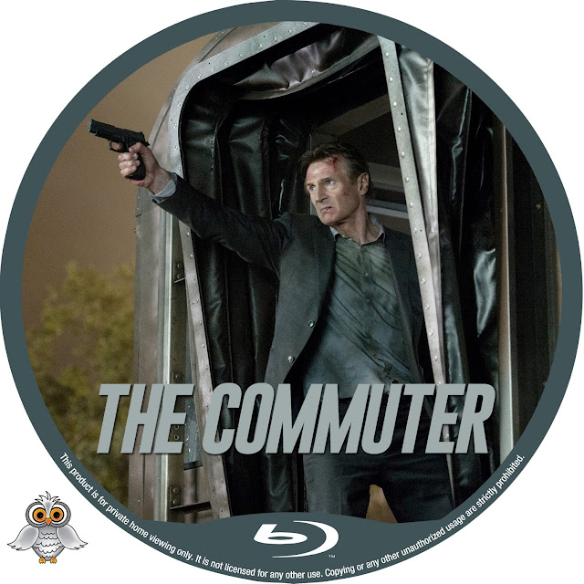 The Commuter Bluray Label