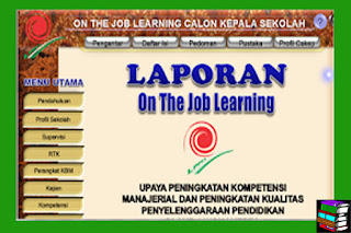 [Ifno Terbaru] Download Contoh OJL (On The Job Learning )