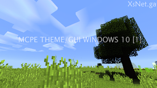 Download Minecraft Pocket Edition Theme/Gui Windows 10