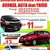 Promo Toyota YARIS,AGYA dan AVANZA Promo Khusus LEBARAN 2016 di Bogor