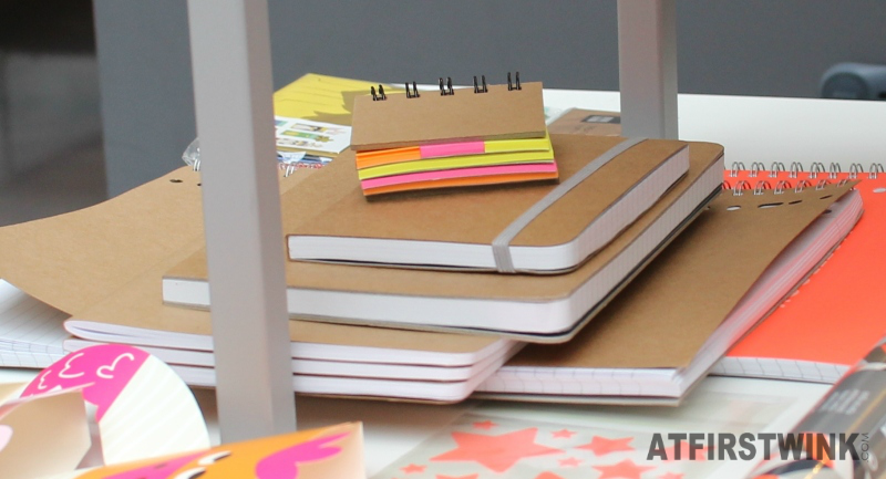 HEMA recycled paper note books