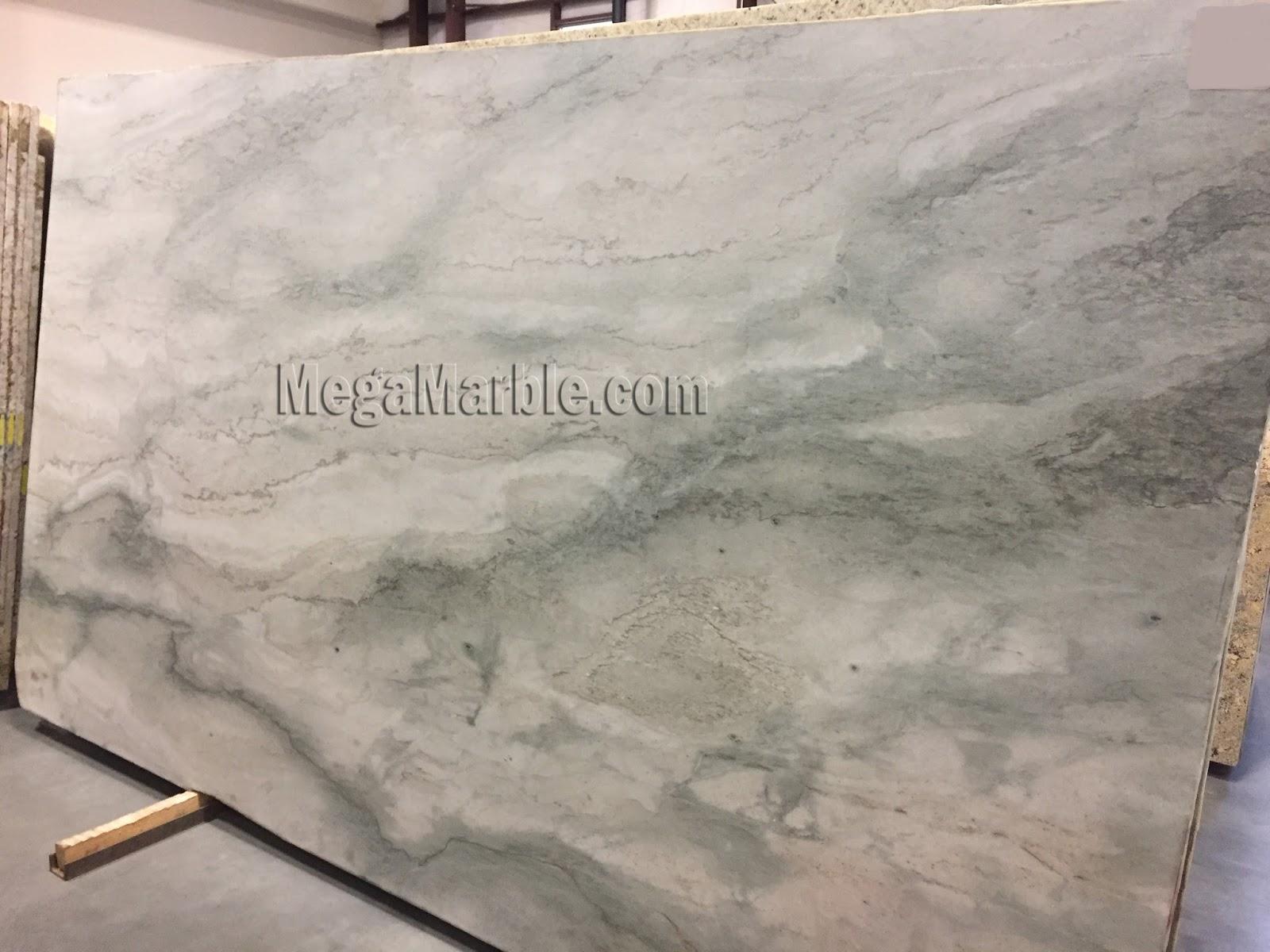 Sea pearl quartzite slab