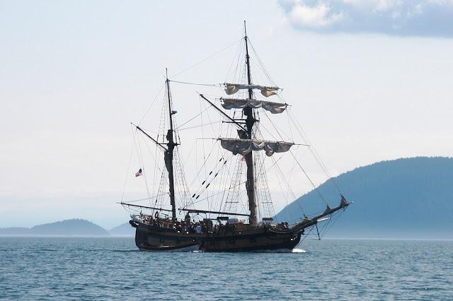 Echo Bay Tall ship cruises