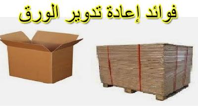 فوائد إعادة تدوير الورق