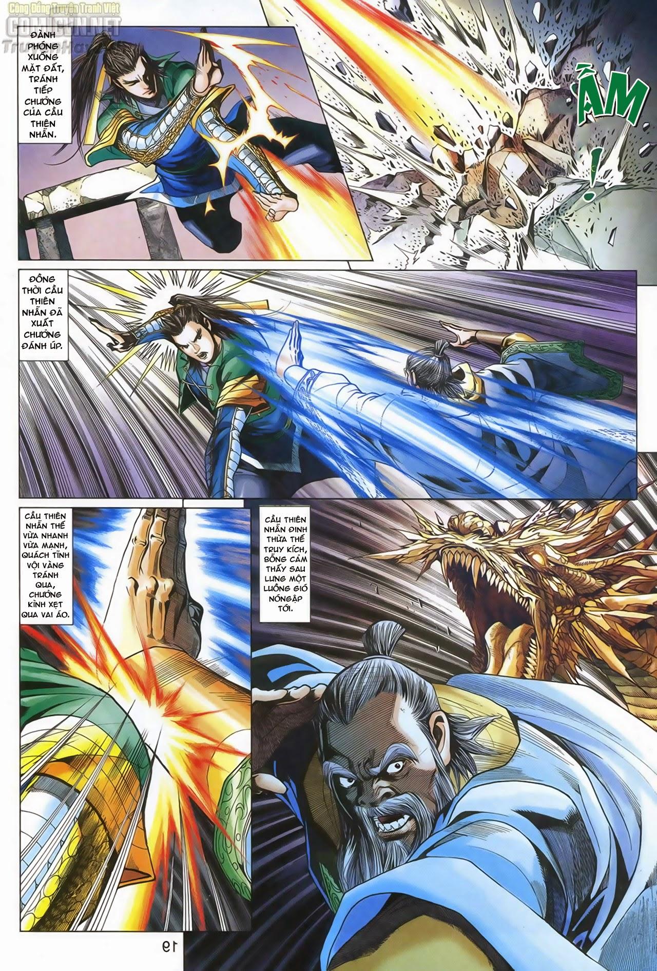 Anh Hùng Xạ Điêu anh hùng xạ đêu chap 67: quyết chiến hiên viên đài trang 18
