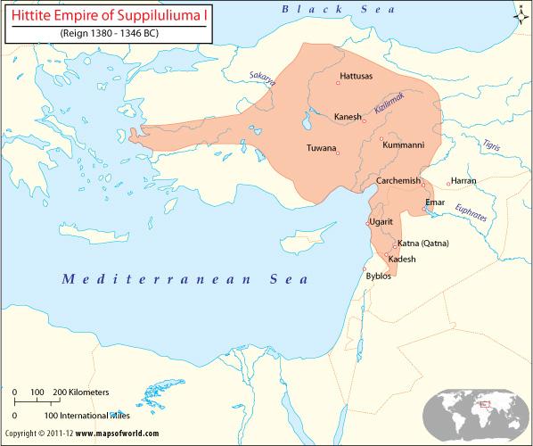 Kerajaan mesir hittite