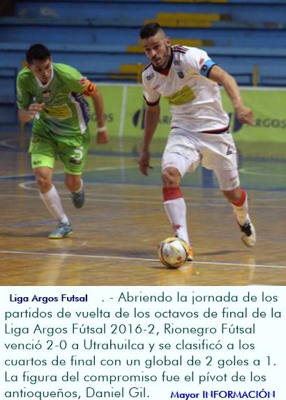 Rionegro Fútsal remontó la serie y eliminó a Utrahuilca